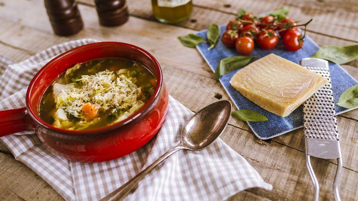 Így készül az olasz minestrone!