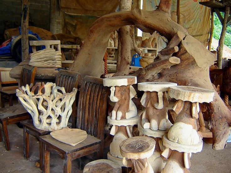 Wood Carving Factory Baguio Philippines Homeland