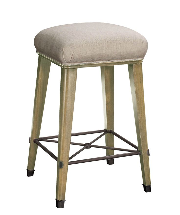 Windsor Bar Stool in Parchment u0026 Oatmeal - FURNITURE - Seating - Stools  sc 1 st  Pinterest & 219 best counter | bar stool images on Pinterest | Bar stool ... islam-shia.org