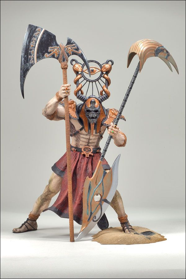 SOLDIER OF RA SPAWN SERIES 33 AGE OF PHARAOHS Toy Collection Wish List Spawn Toys Toys
