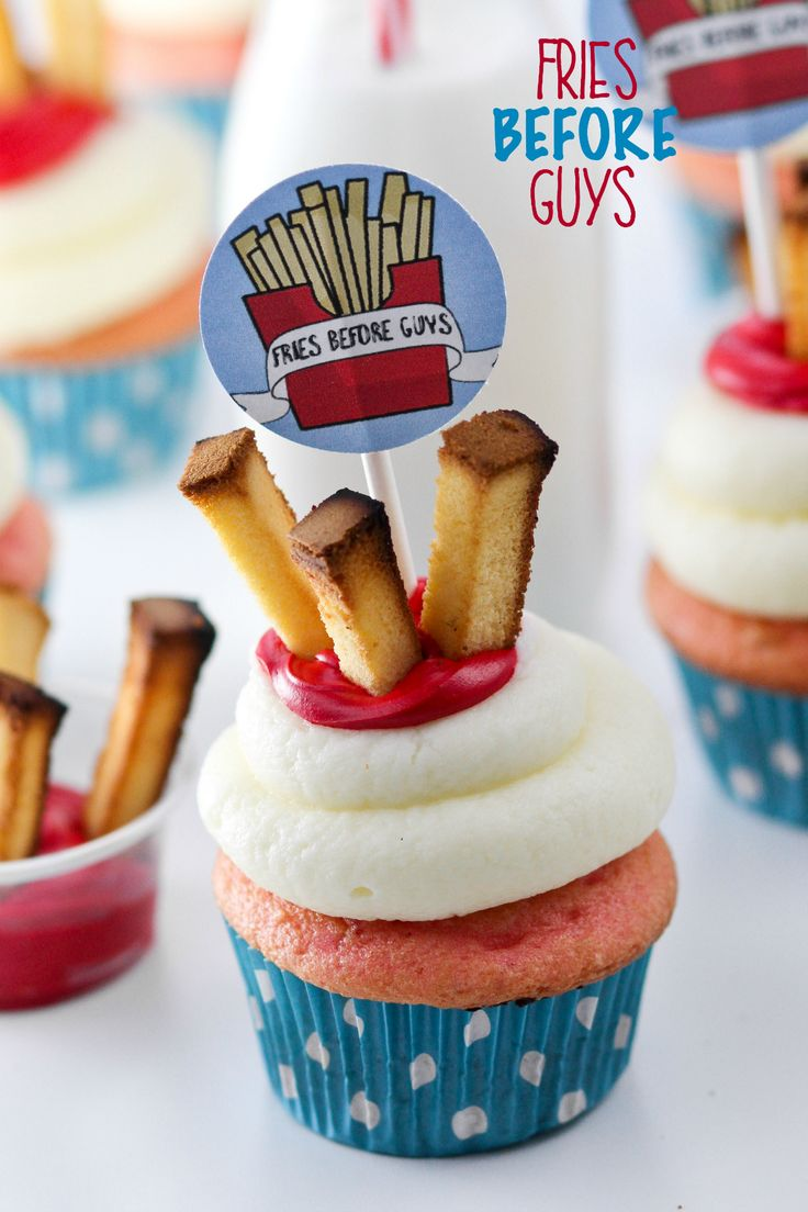 Fries Before Guys Cupcakes