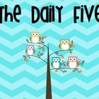 These daily five posters will be perfect for any owl themed classroom! Each poster has a bright chevron background along with adorable owls. This p...