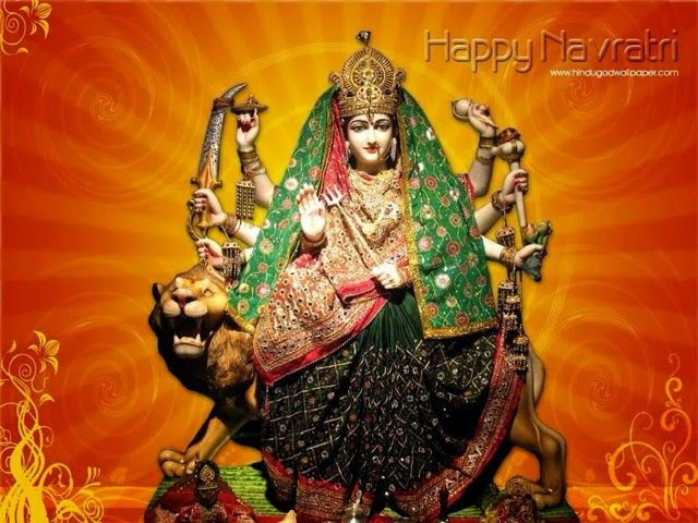 Happy Navratri Greetings HD Wallpaper .. Whatsapp Navratri HD wall paper.. Happy Navratri to all