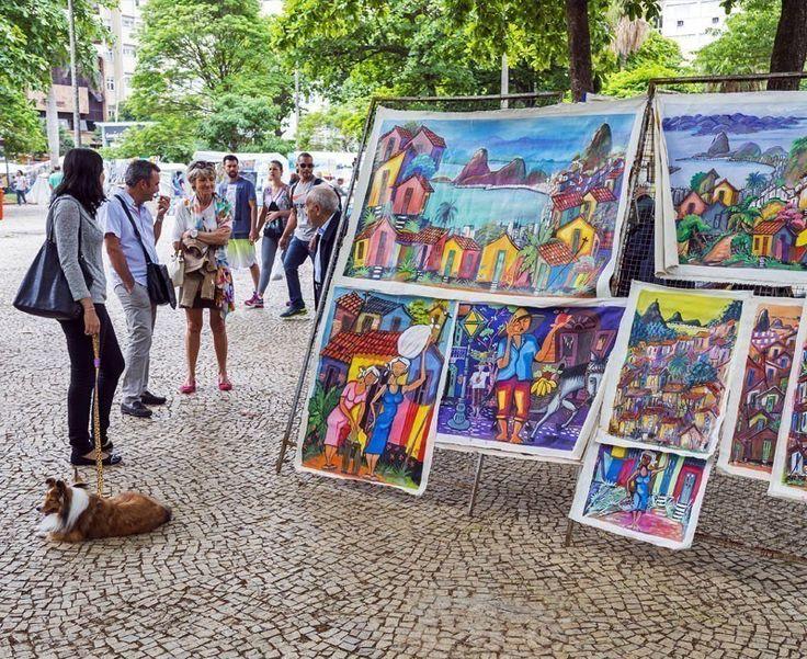 The outdoor Hippie Fair market in General Osorio Plaza in Ipanema, Rio de Janeiro | 10 Reasons Why You Should Visit Rio de Janeiro Right Now