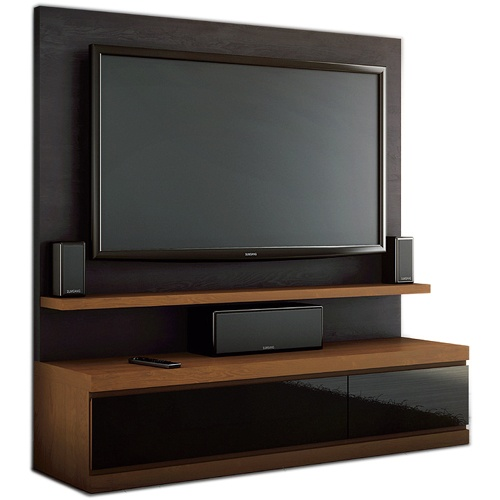 JSP Linea Collection L-90C L-90-BP-MK Home Theater Credenza