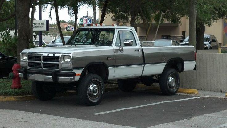 1990 Cummins 4x4 for Sale | 1991 Dodge Ram W250 4x4 I/C Cummins Turbo Diesel, A518, HX35, 230k ...