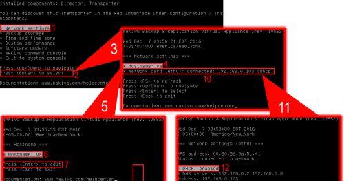Nakivo Backup & Replication: Configuración básica inicial.