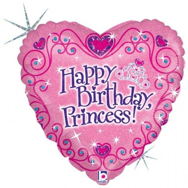 Betallic 18 inch Princess Birthday BalloonSet your party with something majestic and lovely! Add this 18-inch Princess Birthday Balloon to your party decoration and create a sparkling princess birthday ambiance. It comes in pink heart-shaped balloon designed with printed princess stuffs such as crown, diamond and heartsfeaturing a sparkling 'Happy Birthday Princess!' greeting at the center.Retail Packing ViewQUALITY PRODUCTS ALWAYSOUR PRODUCTS ARE 100% AUTHENTIC & GENUINE100% OF THE…
