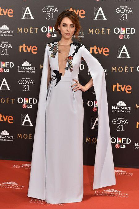 Leticia Dolera de Alicia Rueda en los premios Goya 2017.