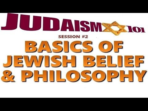 JEWISH BELIEF & PHILOSOPHY - Rabbi Michael Skobac (Jews 4 Judaism Shabbat Torah Israel kosher Talmud - YouTube