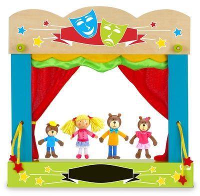Goldilocks - Finger Puppets - Memorable Toys Boutique