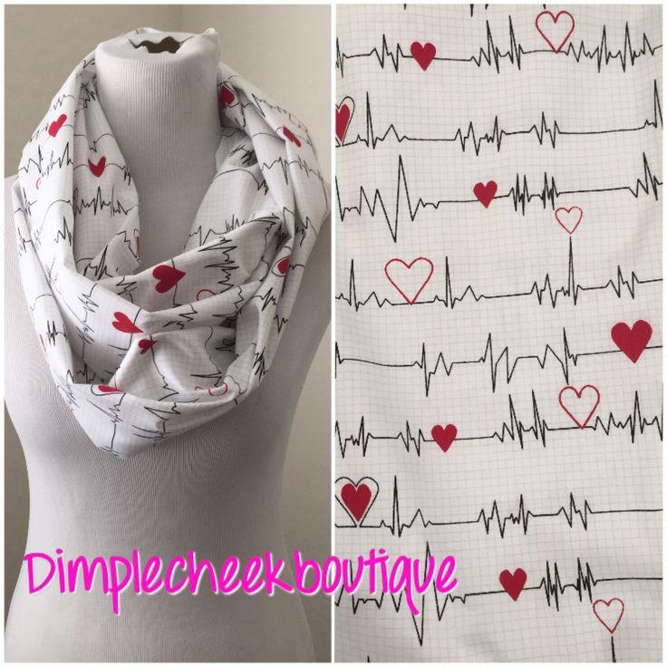 Asombroso Corazón Patrón De Confección De Bufandas Imagen - Manta de ...