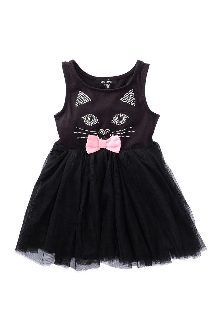 Adorable Kitty Face Dress