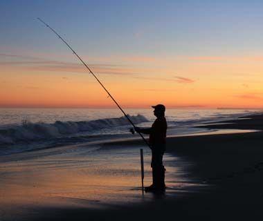 Sunset over Myrtle Beach, SC