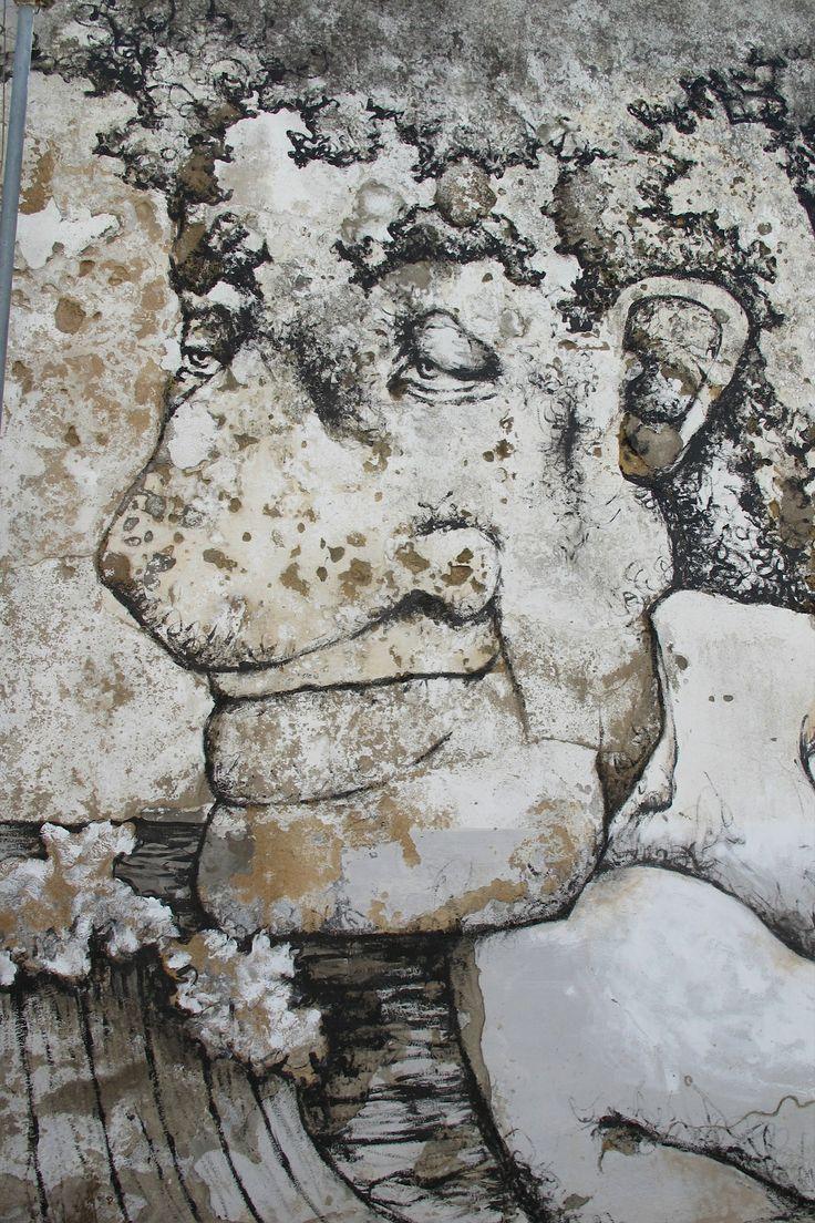 Mural @ Largo Pedro Alvares Cabral, Santarém, PORTUGAL, 2014