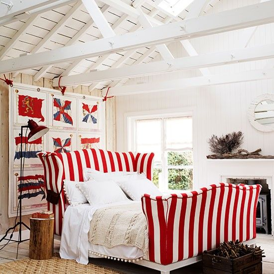 Red And White Bedroom | Bedroom Decorating Ideas | Homes U0026 Gardens |  Housetohome.co