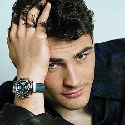 Iker Casillas, Spanish soccer goalie, b. 1981. I love my Spanish soccer players!