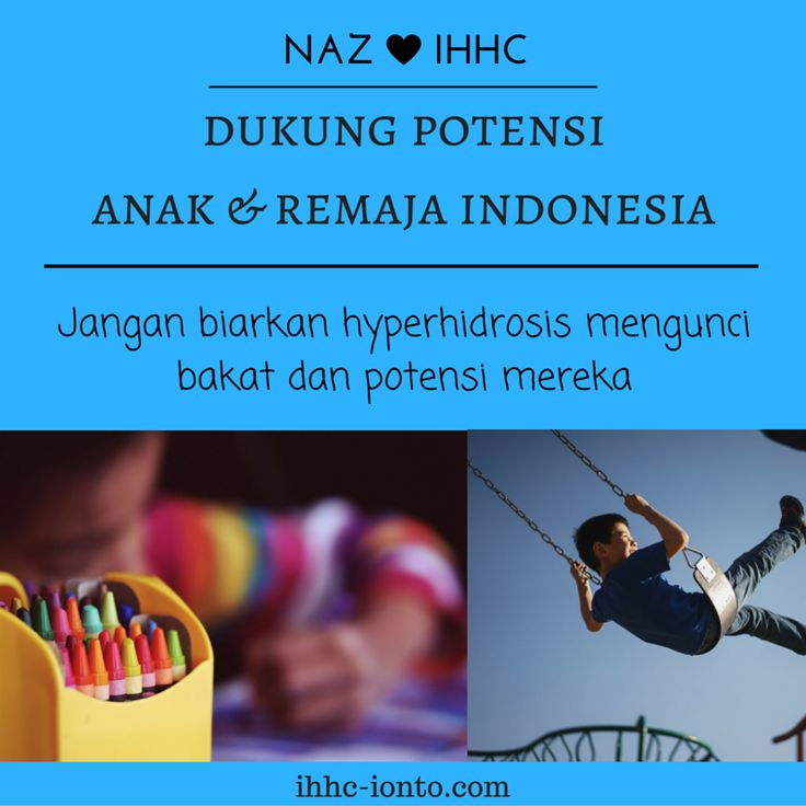 Jangan Biarkan Potensi Anak Dan Remaja Indonesia Terkunci Keringat (Kisah Nyata Hyperhidrosis Indonesia)