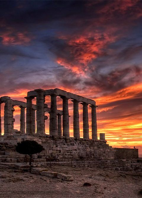 Temple of Poseidon - Cape Sounio, Attica, Greece