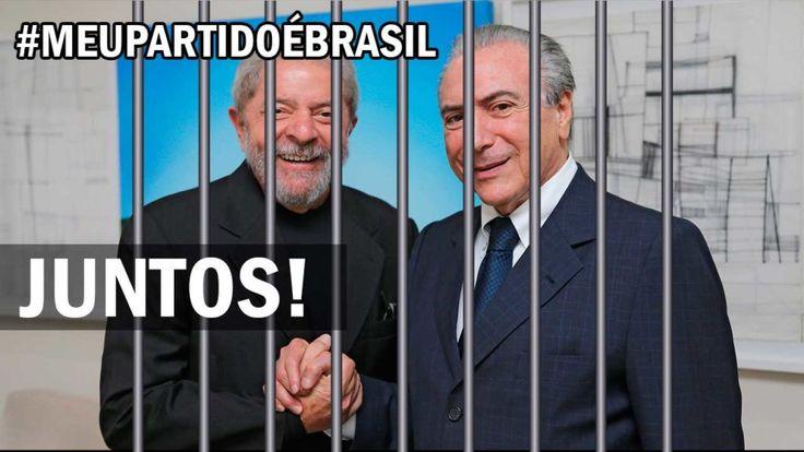 Marcha Fora Temer e Lula Na Cadeia #MeuPartidoéBrasil #LavaJatoEuApoio