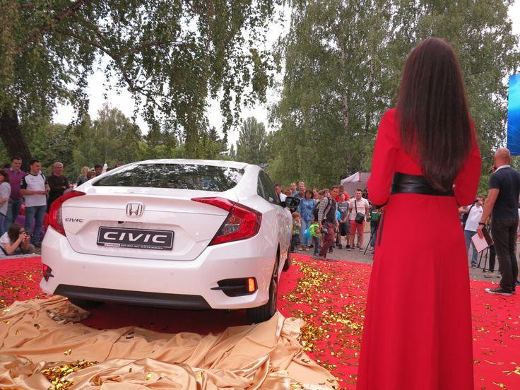 Состоялся всеукраинский дебют Honda Civic Sedan 2017