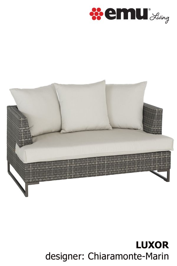 Luxor 6542 With Images Modern Outdoor Furniture Love Seat