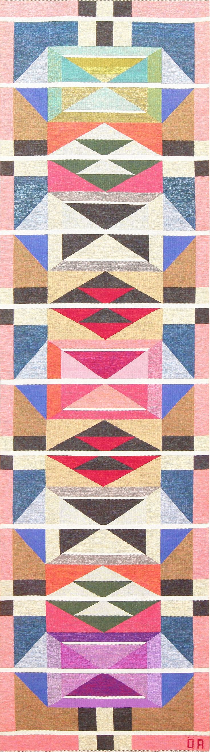 if only i had $41,000 to drop || Large Vintage Swedish Runner Rug by A. Osterberg