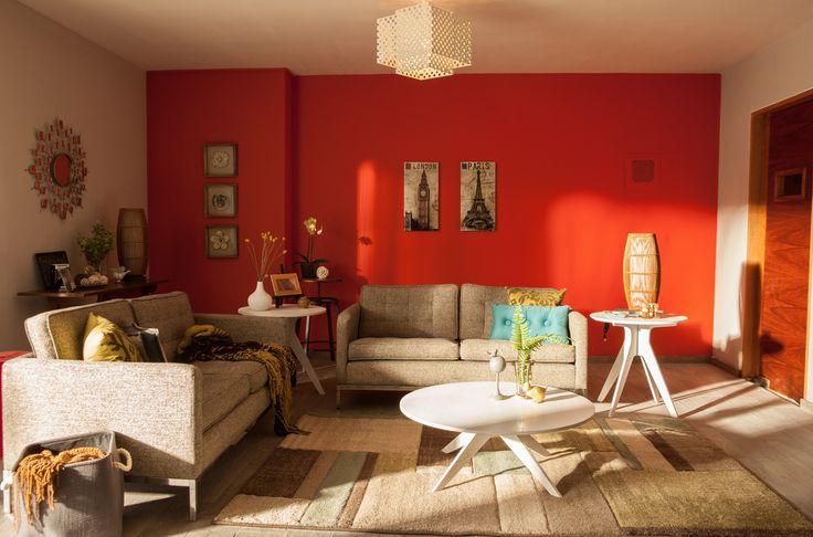 La sala es uno de los espacios más tranquilos del hogar, decóralo con calidez.
