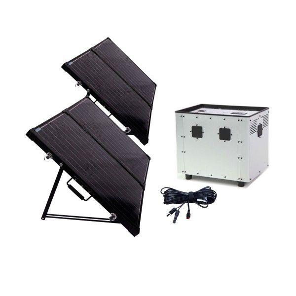1500!...Humless Ultimate Off Grid Solar Generator Bundle | Wise Food Storage