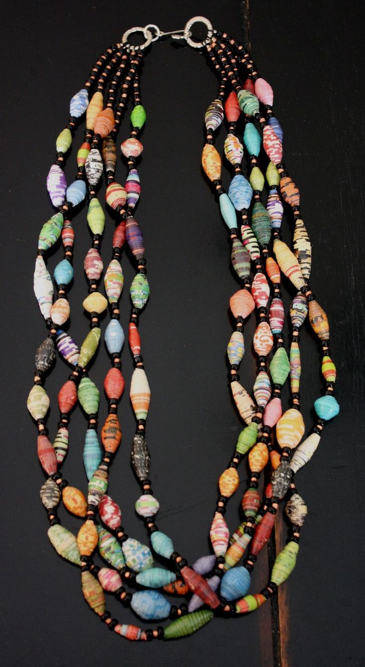 handmade statement trishw pinterest bead diy on beaded multi best strand necklaces necklace jewelry make cones with w a images beads seed finishing earrings trish