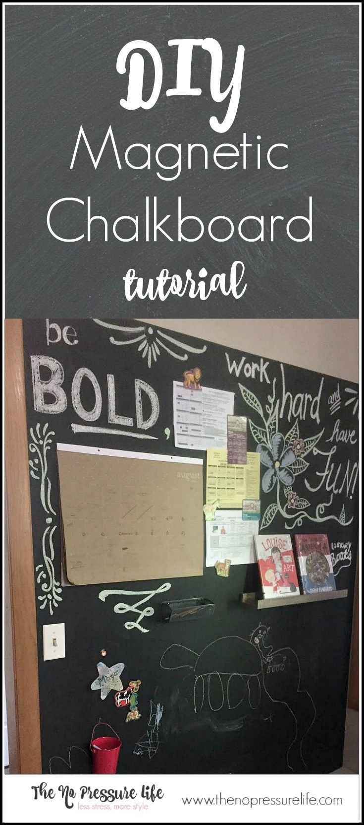 25 best ideas about magnetic chalkboard walls on pinterest magnetic chalkboard framed. Black Bedroom Furniture Sets. Home Design Ideas