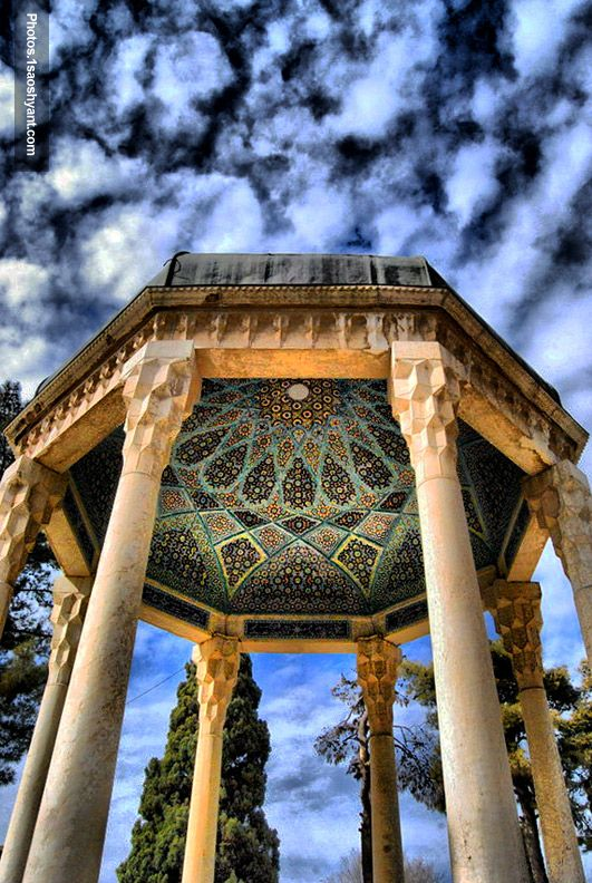 Hafez Tomb Shiraz. I would love to go there next time I visit.