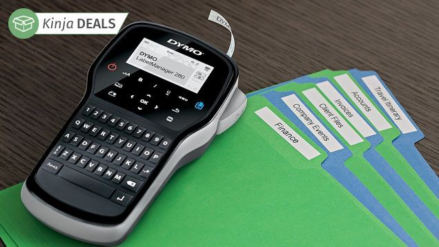 Finally Get Organized With This $15 Rechargeable Label Maker
