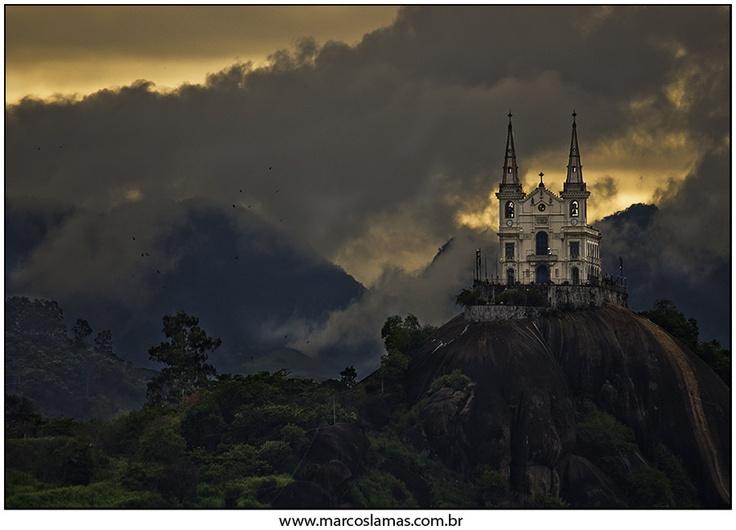 Igreja da Penha - Rio de Janeiro by Marcos Lamas, via 500px