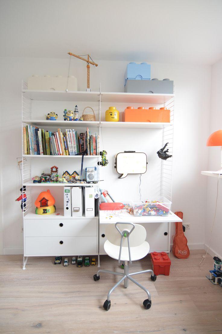 die besten 17 ideen zu string regal auf pinterest regal etiketten h ngeregal und industrie. Black Bedroom Furniture Sets. Home Design Ideas