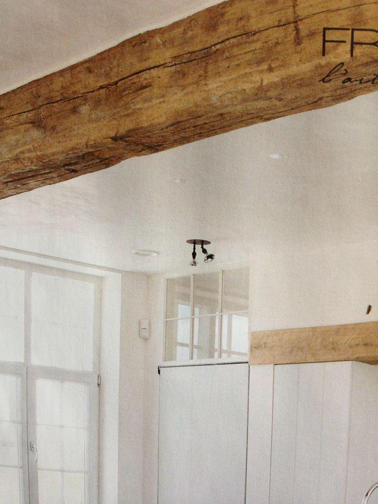 17 beste idee n over houten balken op pinterest houten plafondbalken balken en balkenplafond - Plafond met balk ...