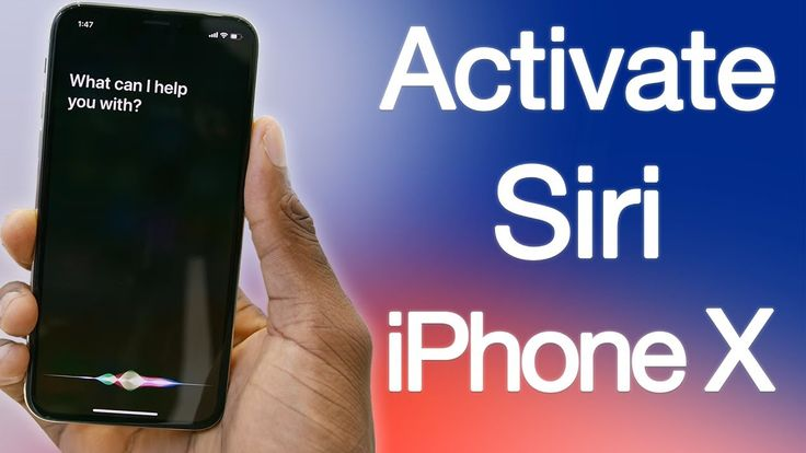 how to enable siri on iphone 11 pro max