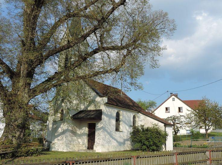Holzheim-Bergendorf (Donau-Ries) Kapelle Vierzehn Nothelfer