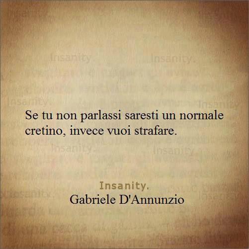 Citazioni d'autore - Gabriele D'Annunzio