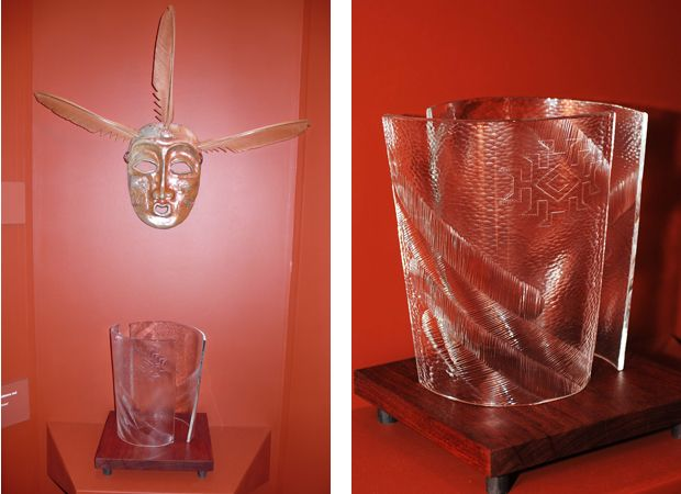 Glass Basket Sculpture for Lillian Pitt | Altility Art Studio