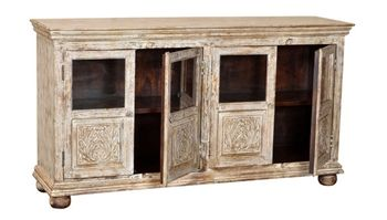 Rustic wooden Grand Haven TV Stand - Roughing It In Style