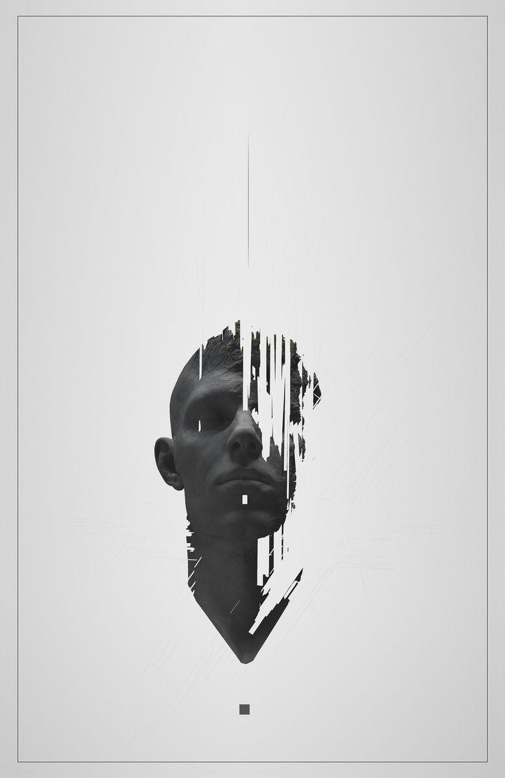 Philip Harris-Genois : https://www.artstation.com/artwork/mvLzY Portrait pour rester collé à l'id existant, mais digitalisation pour le côté le digital sur papier.