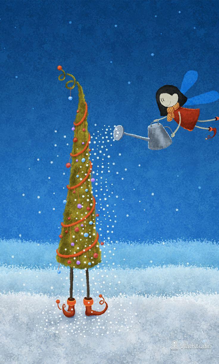 Christmas Tree · wallpapers · Vladstudio
