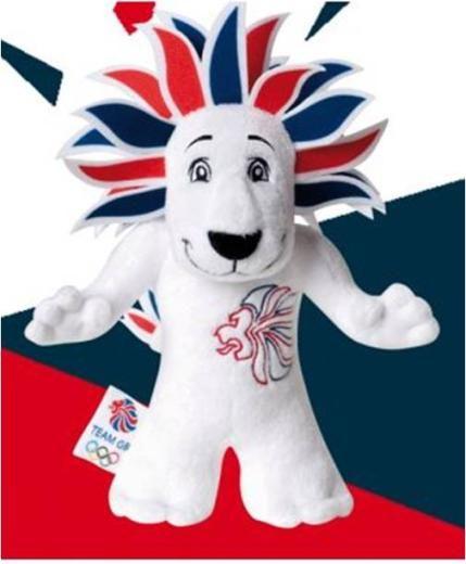 Team GB white lion
