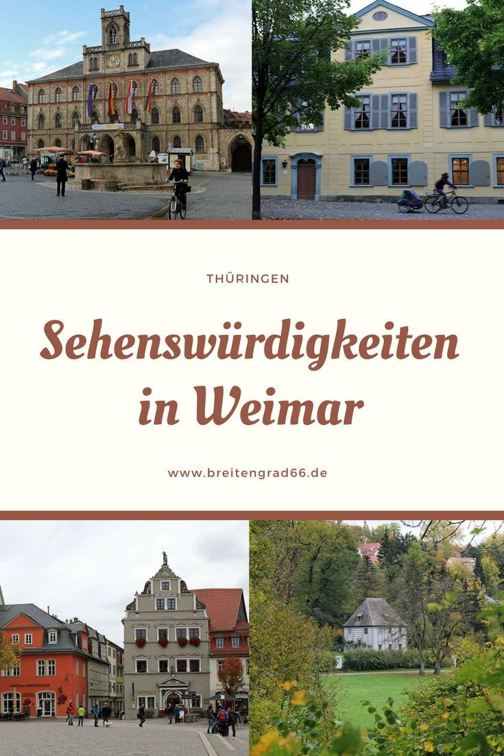 Eine Städtereise nach Weimar lohnt sich. Die Stadt in Thüringen bietet zahlrei… – Blütenschimmern – Rezepte, DIY & Wohninspiration, Reisen, Hund