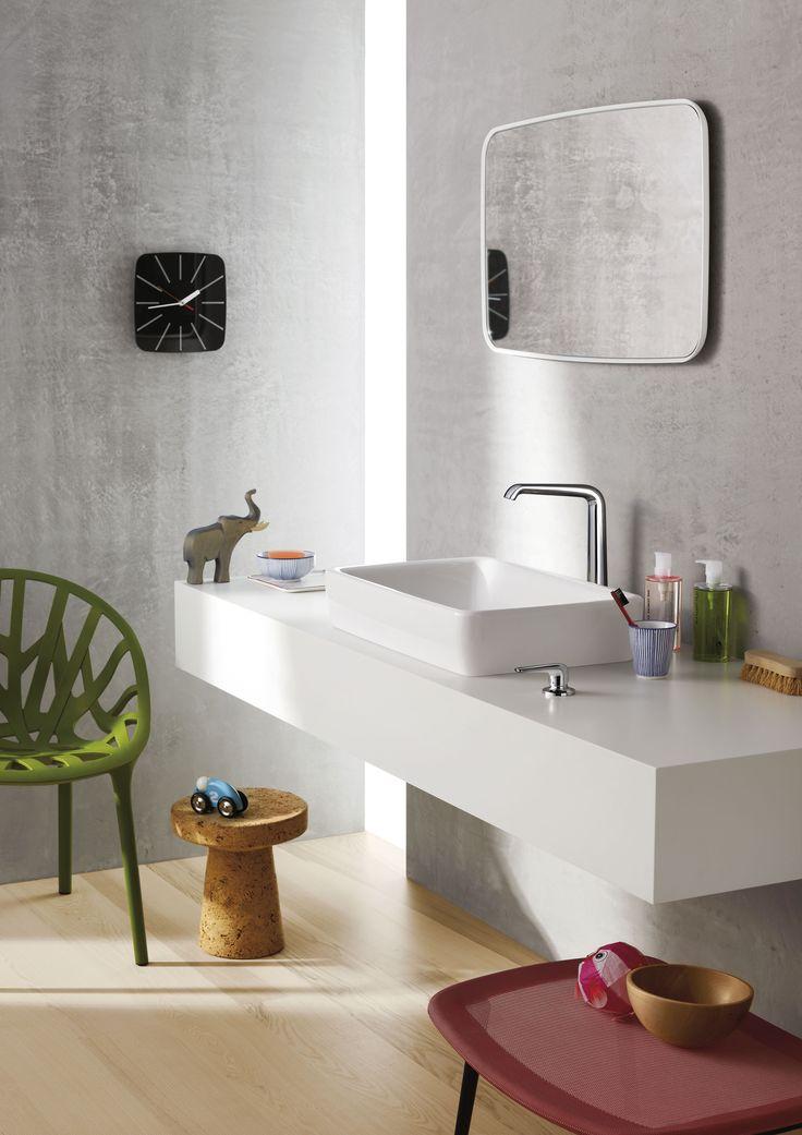Axor Bouroullec, feel free to compose.  Una collezione bagno che lascia spazio ai vostri desideri personali. #Axor #Bouroullec #Hansgrohe #dasoriginal #since1901 #ipionieridelbagno #bellezza #qualità #design #highdesign #architettura #interni #interiordesign #bagno #arredobagno #bathroom #collezionebagno #bath