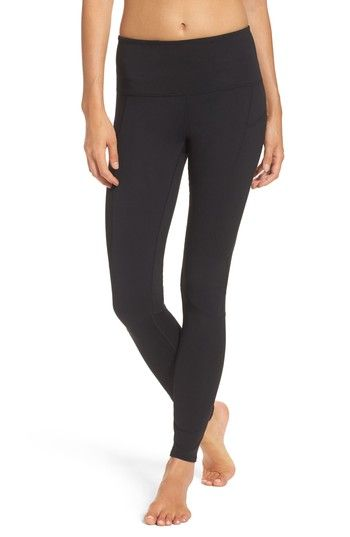 Free shipping and returns on Zella Double Dare High Waist Leggings at Nordstrom.com. Figure-sculpting performance fabric accented in ribbed contrast keeps you looking and feeling good all workout long.