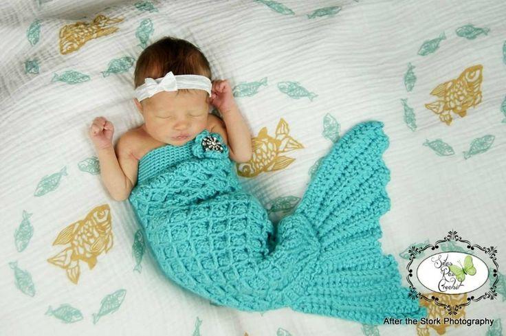 Crochet Mermaid Tail : Crochet Mermaid Tail how cuuute!