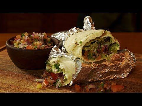 (33) Burritos de Carne Asada Picantes - Receta de Locos X el Asado - YouTube