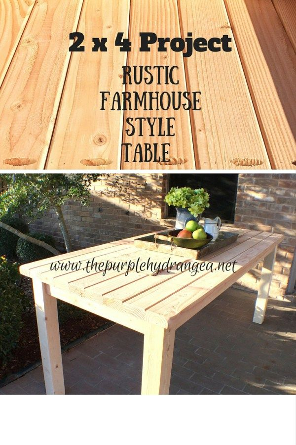 25 best ideas about 2x4 furniture on pinterest diy for 2x4 farm table